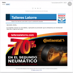Continental, mailing